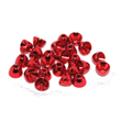 Coneheads - Metallic red - 4,0mm - 25st